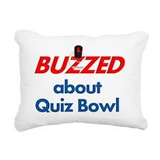 BuzzedQB Rectangular Canvas Pillow