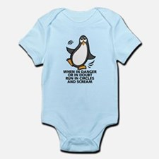 When in Danger or in Doubt Funny P Infant Bodysuit