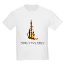 Custom Flaming Guitar T-Shirt