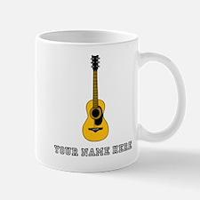 Custom Acoustic Guitar Mugs