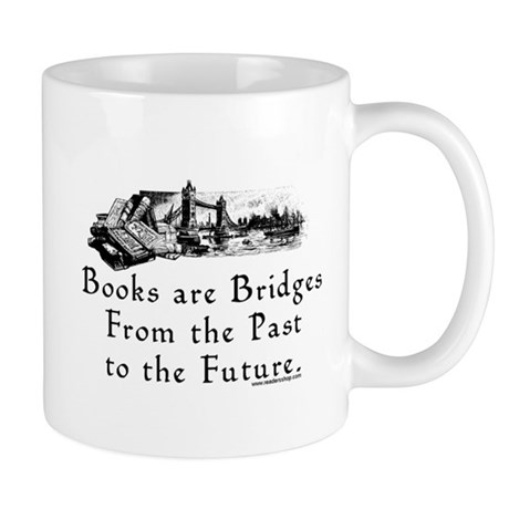 Books are Bridges Mug