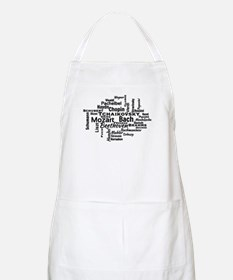 Classical Composers Word Cloud Apron