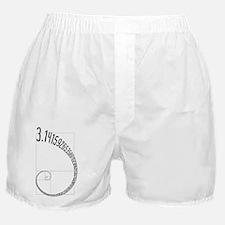 Fibonacci Pi Boxer Shorts