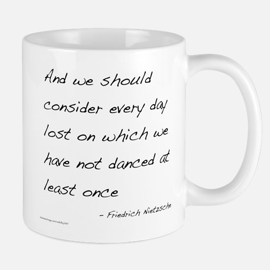 Nietzsche on Dance Mug