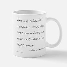 Nietzsche on Dance Small Small Mug
