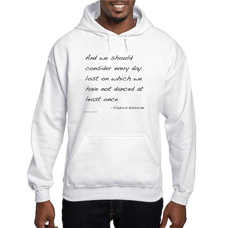 Nietzsche on Dance Hooded Sweatshirt