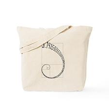 Fibonacci Pi Tote Bag