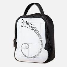 Fibonacci Pi Neoprene Lunch Bag