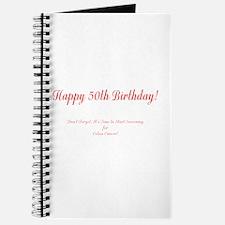 50th Birthday Get a Colonoscopy Stop Colon Journal