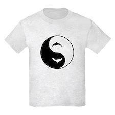 Yin Yang Dolphins T-Shirt