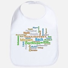 Classical Composers Word Cloud Bib