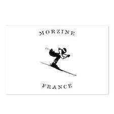 Morzine France Ski Postcards (Package of 8)