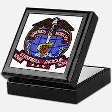 USS STONEWALL JACKSON Keepsake Box