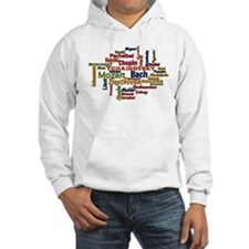 Classical Composers Word Cloud Hoodie