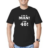 40 Fitted T-shirts (Dark)