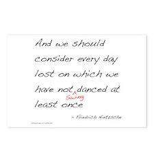 Nietzsche on Swing Dance Postcards (Package of 8)