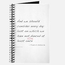 Nietzsche on Swing Dance Journal
