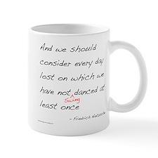 Nietzsche on Swing Dance Mug