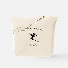 Mount Hermon Israel Ski Tote Bag