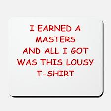 masters Mousepad