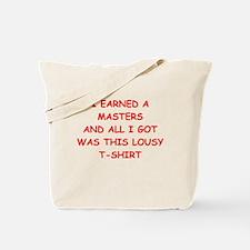 masters Tote Bag