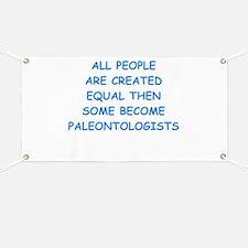 paleontology Banner