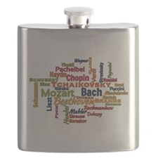 Classical Composers Word Cloud Flask