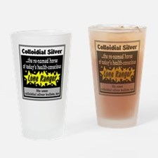 Colloidial Silver Drinking Glass