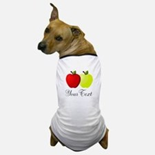 Personalizable Apples Dog T-Shirt