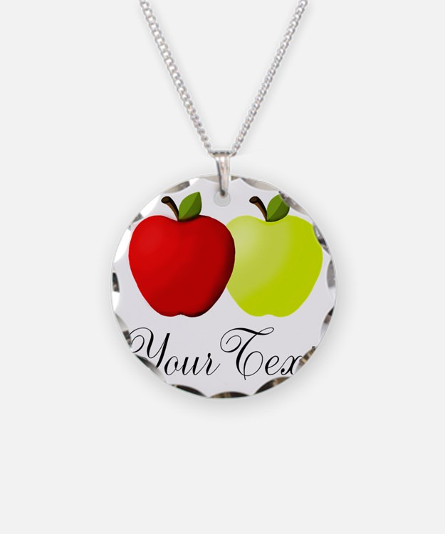 Personalizable Apples Necklace