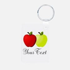 Personalizable Apples Keychains
