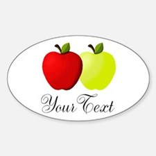 Personalizable Apples Decal