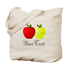 Personalizable Apples Tote Bag