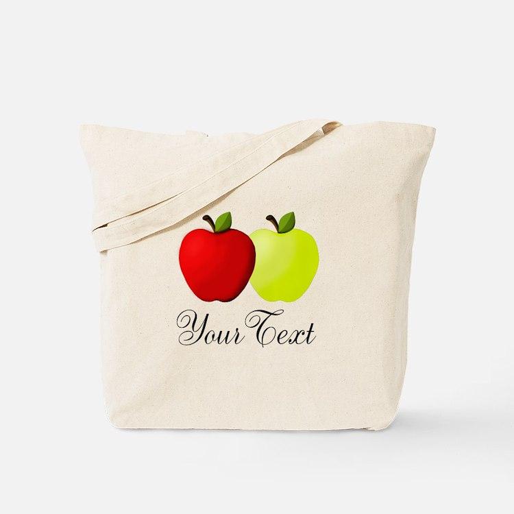 Personalizable Apples Tote Bag