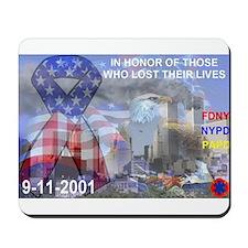 9-11-2001 Mousepad