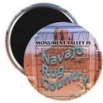 Monument Valley 4 Navajo Rugs Magnet