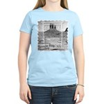 Monument Valley 4 Navajo Rugs Women's Pink T-Shirt