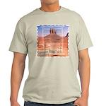 Monument Valley 4 Navajo Rugs Ash Grey T-Shirt
