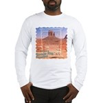 Monument Valley 4 Navajo Rugs Long Sleeve T-Shirt