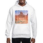 Monument Valley 4 Navajo Rugs Hooded Sweatshirt