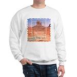 Monument Valley 4 Navajo Rugs Sweatshirt