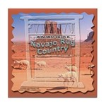 Monument Valley 4 Navajo Rugs Tile Coaster