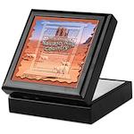 Monument Valley 4 Navajo Rugs Keepsake Box