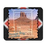 Monument Valley 4 Navajo Rugs Mousepad