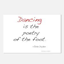 Dryden on Dance Postcards (Package of 8)