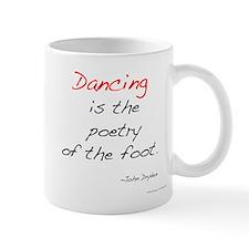 Dryden on Dance Small Small Mug
