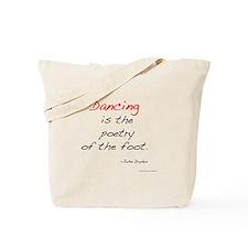 Dryden on Dance Tote Bag