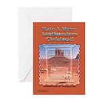 Monument Valley 4 Navajo Rugs Greeting Cards (6)