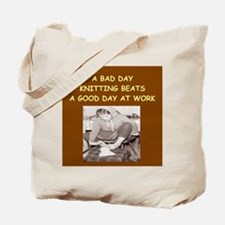 KNIT3 Tote Bag