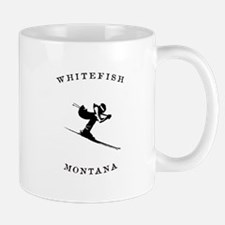 Whitefish Montana Ski Mugs
